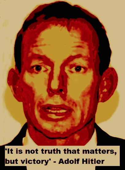 Tony Abbott | Under the counter or a flutter in the dovecote