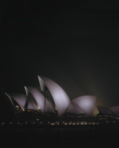 The Sydney Opera House - an example of great simplicity in action (as well as great complexity)