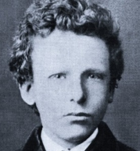 Vincent van Gogh (as a yoof): a hero to many