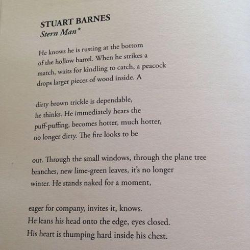Stern Man by Stuart Barnes (2014)
