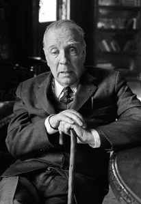 Jorge Luis Borges in Buenos Aires in 1973. (Image by © Horacio Villalobos). I might look like him one day. Might? Highly likely.