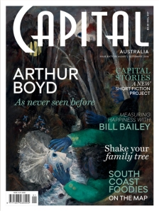 The latest issue of Capital magazine - contains traces of fiction