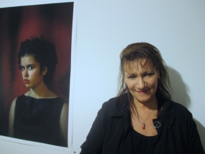 Sylvie Stern: the matron of the undergound. (Image courtesy of Canberra Contemporary Art Space)