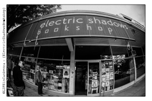 On 29 May 2015, the famous Electric Shadows Bookshop closed its doors after 27 years. There was a wake. There were tears. Photo credit: Andrew Sikorski